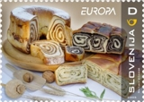 Europe gastronomy series, 2005. Source: Pošta Slovenije