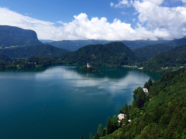 Bled lake. Photo by Jodie Lia