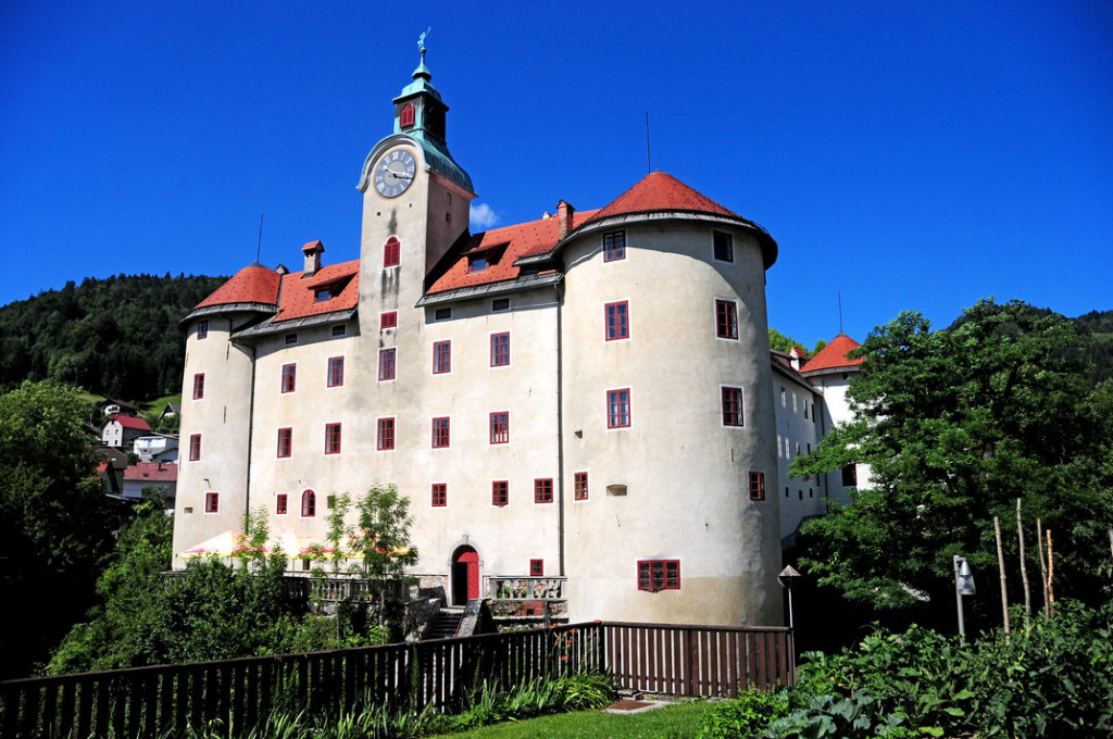 Gewerkenegg castle. Author: Dunja Wedam. Source: TIC Idrija.