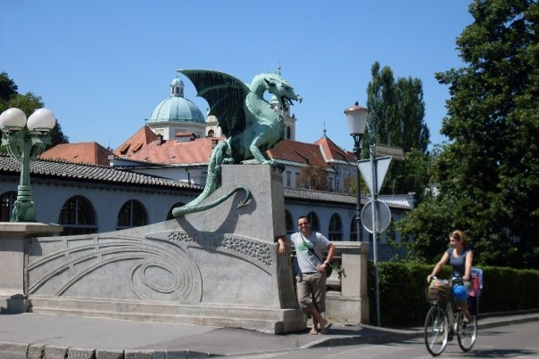 Dragon Bridge in Ljubljana. Source: Erdeniz Unvan