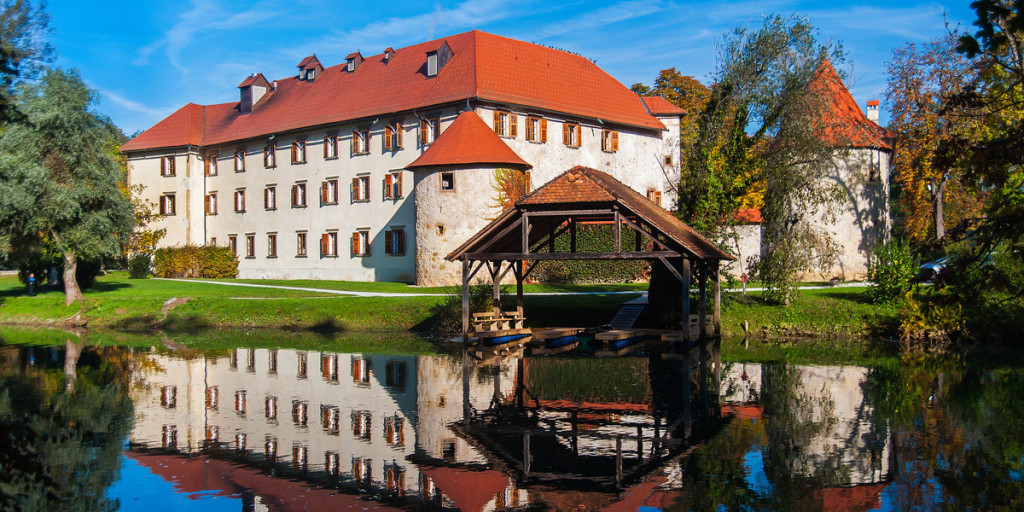 Otočec castle. Source: Shutterstock.