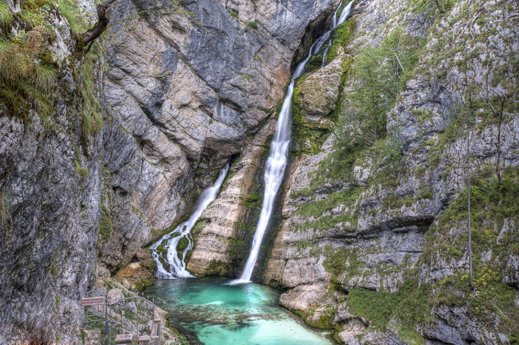 Savica waterfall. Source: Shutterstock
