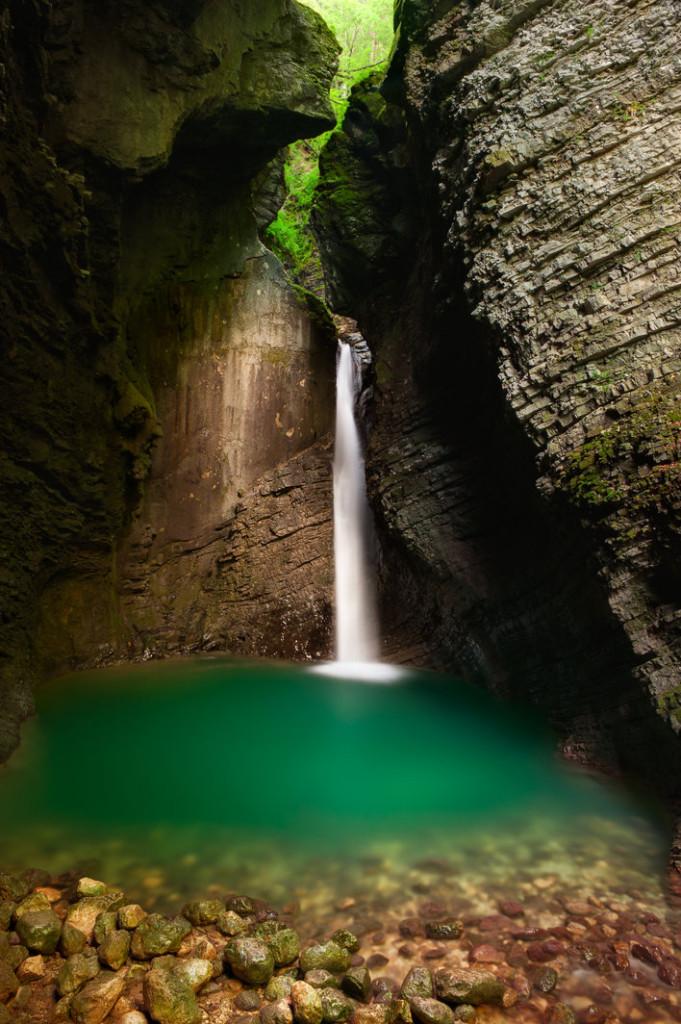 Kozjak waterfall. Source: Shutterstock