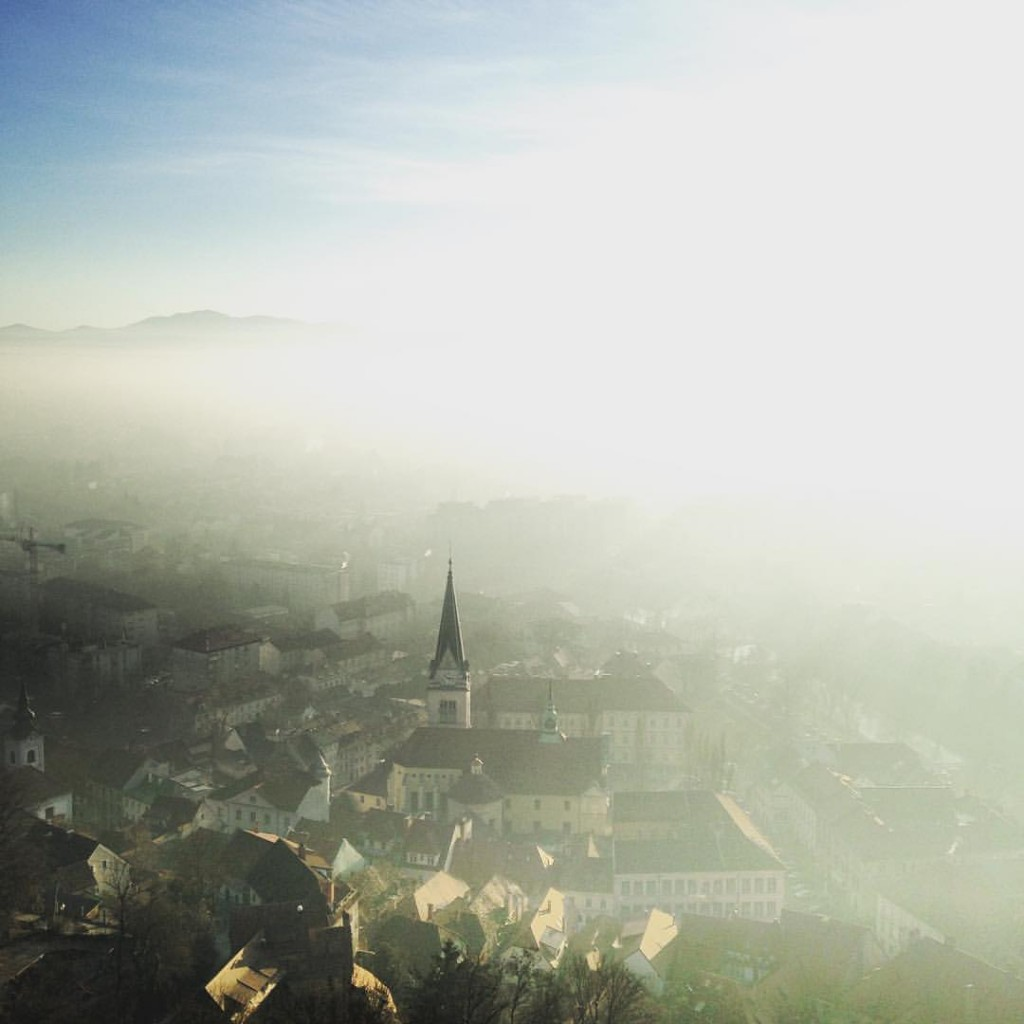 Misty Ljubljana. Author: Alex Durham