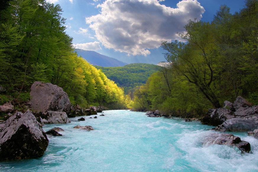 The Soča river. Source: Shutterstock