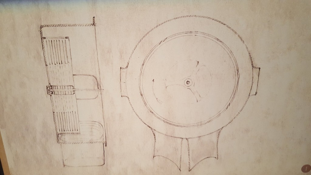 Tesla's sketches from 1908 of a wirelessly charged car. Source: Ivana Bole