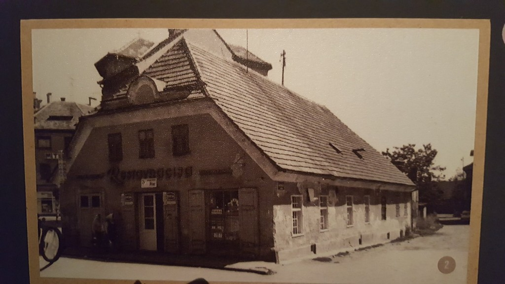 An old photo of a pub in Maribor where Tesla was a frequent visitor. Source: Ivana Bole