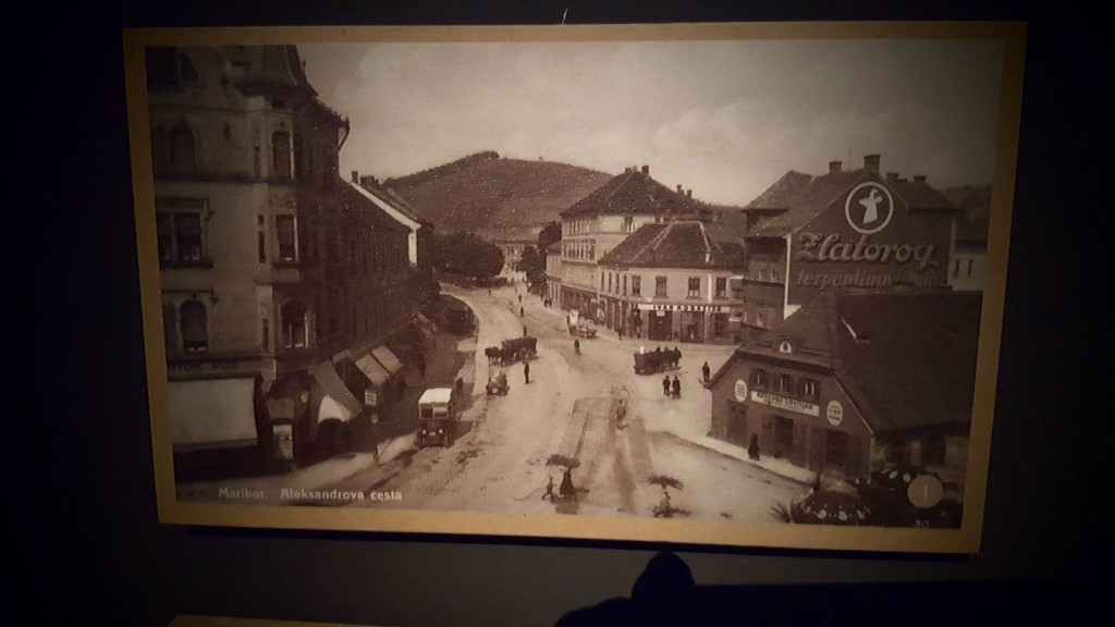 The street where Tesla lived in Maribor. Source: Ivana Bole