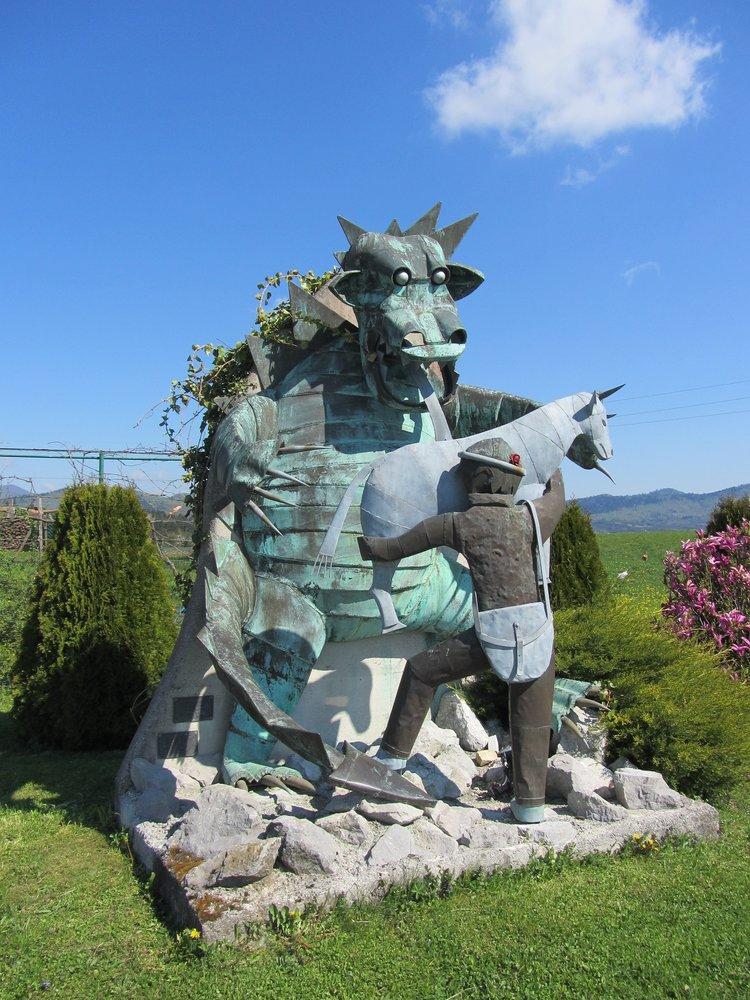 Jacob & the dragon. Source: Tine Verbič