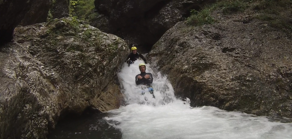 Canyoning. Author: Ivana Bole.