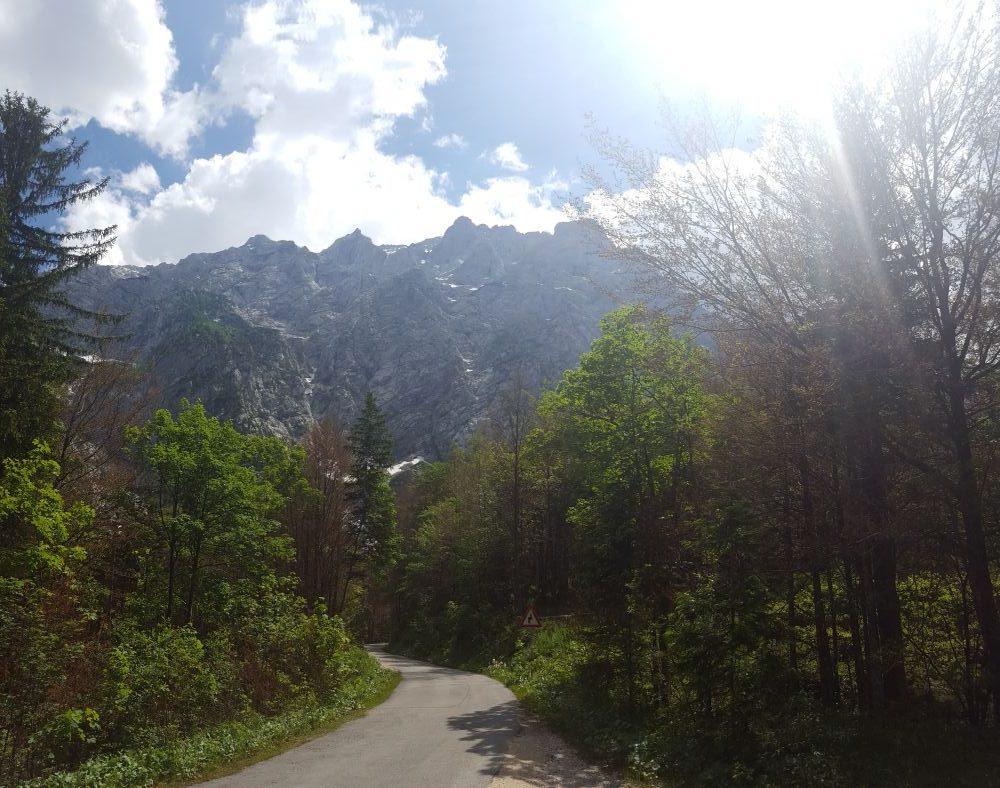 Mountain peaks from Logarska dolina. Author: Ivana Bole