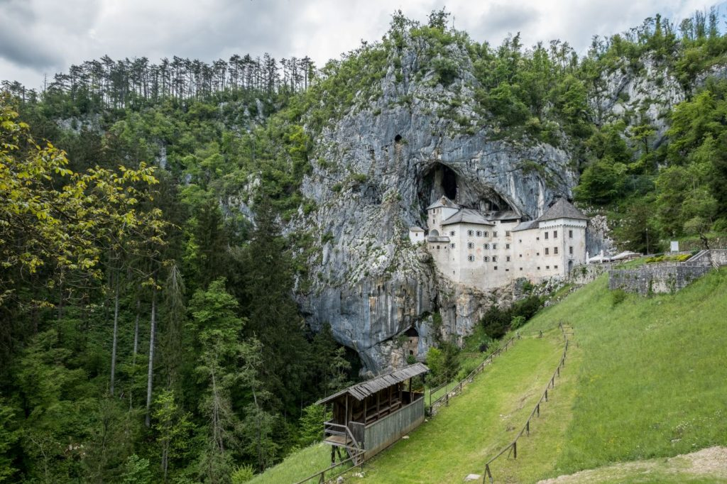Predjama castle. Author: Neale Bertram