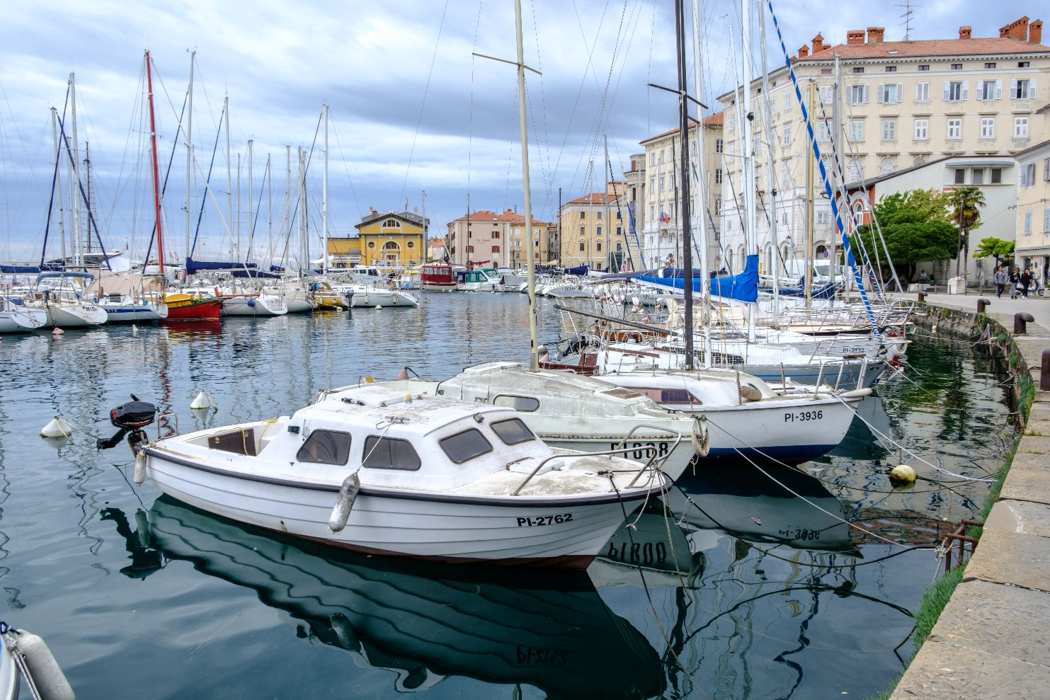 Piran marina. Author: Neale Bertram