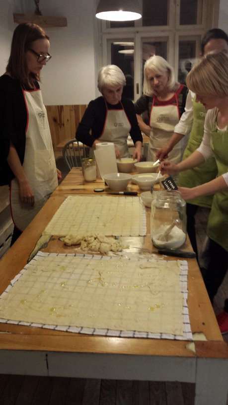 Culinary workshop - making štruklji. Source: Ivana Bole