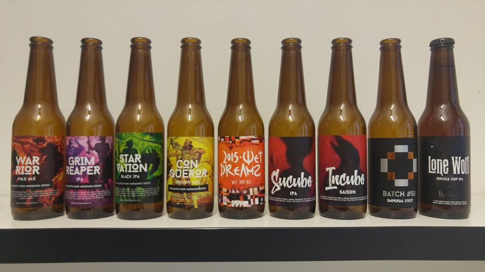 Reservoir Dogs collection. Source: Reservoir Dogs Brewery