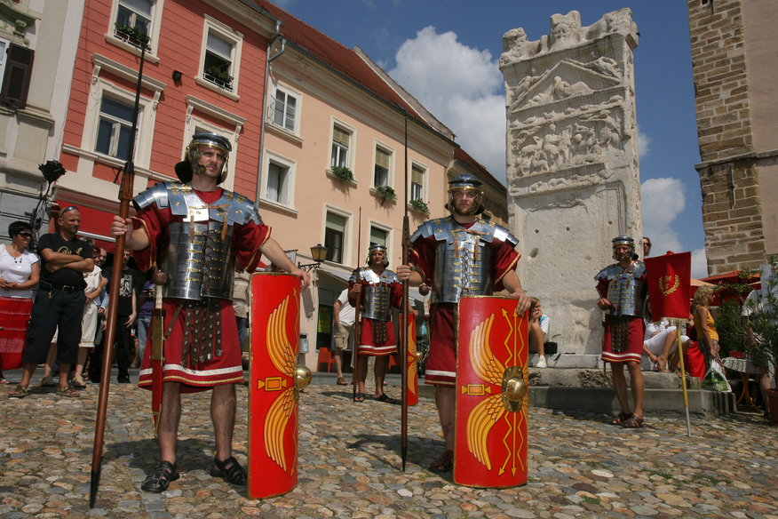 Romans in Ptuj. Source: RDO Ptuj