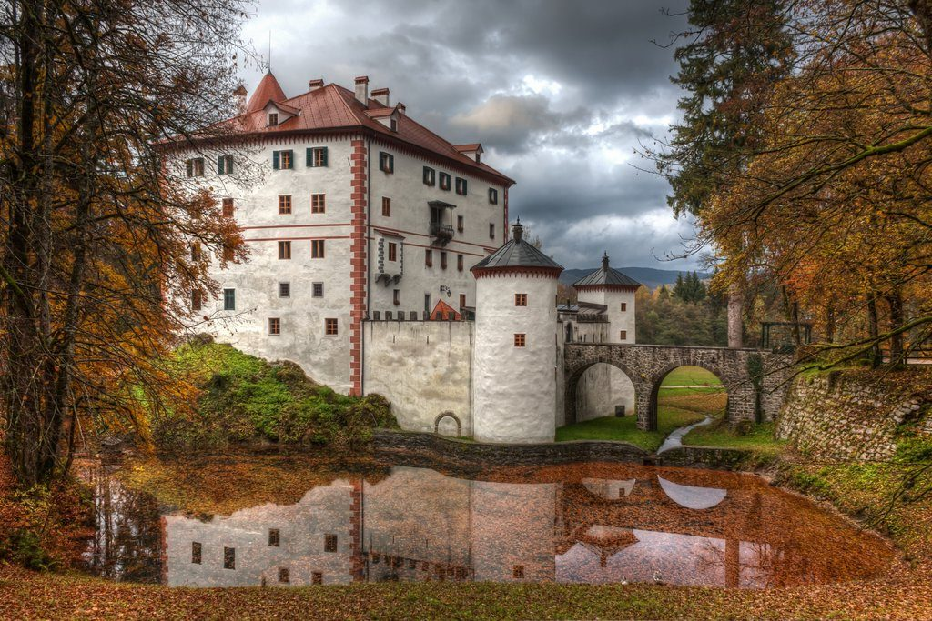 Snežnik castle. Source: Shutterstock