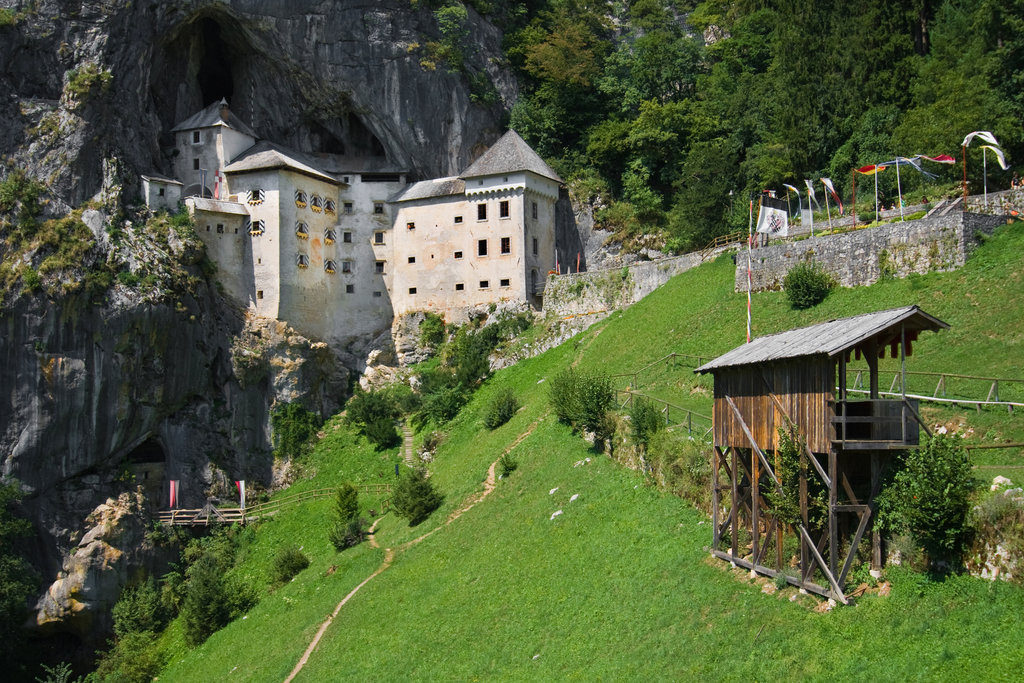 Predjama castle. Source: Shutterstock